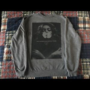 Beyoncé The formation world tour crewneck